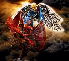 Image result for satan disputes with Michael the Archangel over the body of Moses