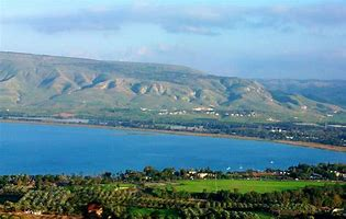 Image result for sea of galilee