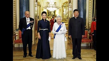 Image result for state visit of chinese president to uk images