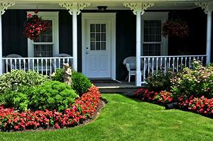 Image result for Homes with Spring Landscape