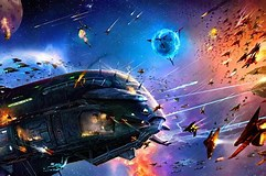 Image result for Epic Space Battles. Size: 241 x 160. Source: wallpapersafari.com