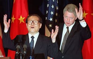 Image result for bill clinton china
