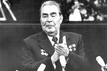Image result for leonid brezhnev towards the end images