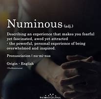 Image result for numinous
