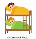 Image result for Royalty Free Clip Art Two Children In Bed
