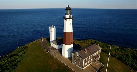 Image result for Montauk Point Light. Size: 190 x 100. Source: montauklighthouse.com