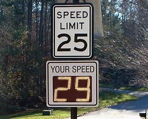 Image result for radar speed signs