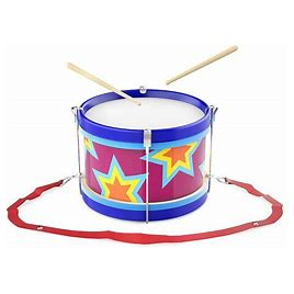 Hey! Play! Children's Toy Snare Marching Drum