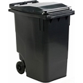 Mini-Vuilcontainer 360 Liter, Grijs