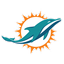 Logo of the Miami Dolphins