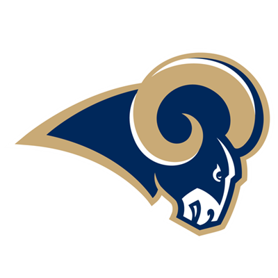 Logo of the Los Angeles Rams