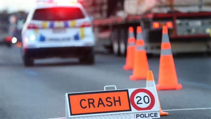 Five people injured in single-vehicle crash temporarily closing a Christchurch road