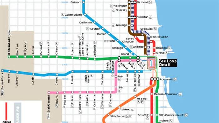 CTA: Service, boarding changes in effect for Red-Purple Bypass Project construction