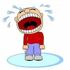 Crying Clip Art